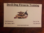 Devil Dog Firearm Training