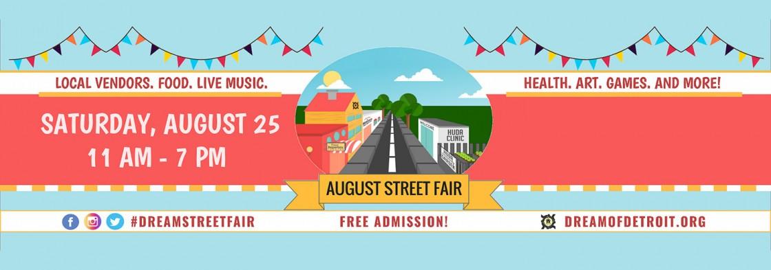 August 25 Street Fair